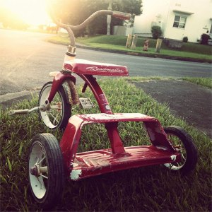 Photo of a Children's Bicycle