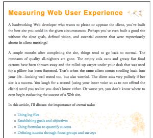 Stand Alone Web Page