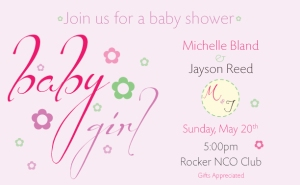 Image of a Baby Shower Invitation