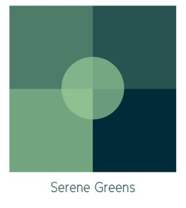 Image of a Green Color Palette