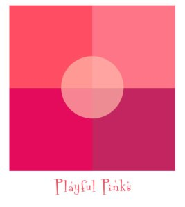 Image of a Pink Color Palette