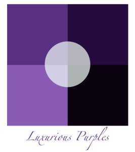 Image of a Purple Color Palette